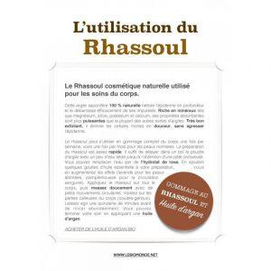 Rhassoul poudre vrac de qualité supérieur 1KG