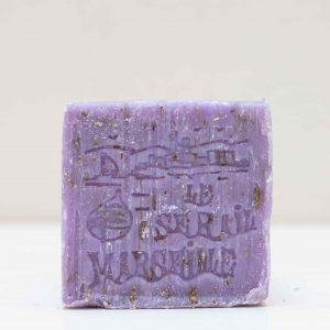 Savon de Marseille lavande broyée cube 150GR LE SERAIL