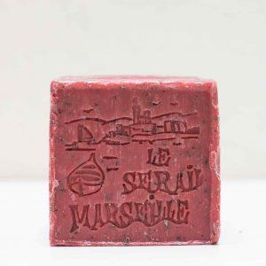 Savon de Marseille Vigne Rouge cube 150GR LE SERAIL