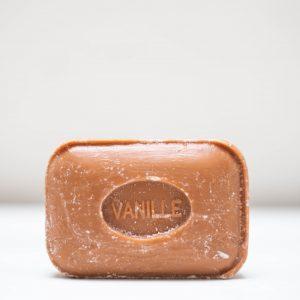 Savonnette de Marseille rectangulaire à la vanille