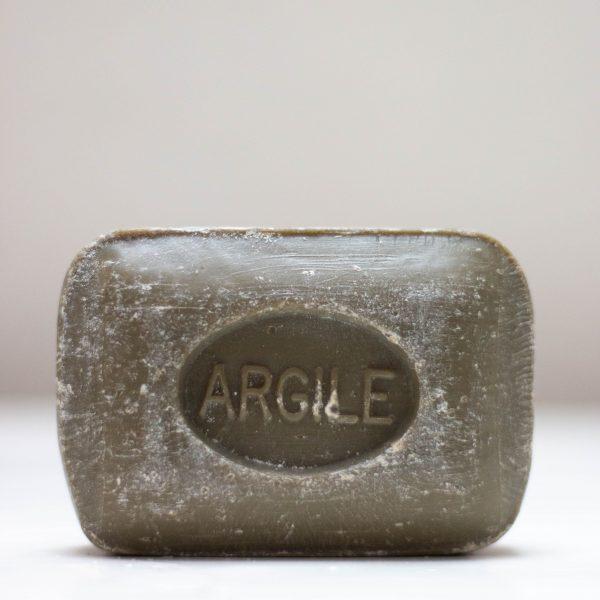 Savonnette de Marseille rectangulaire à l'argile