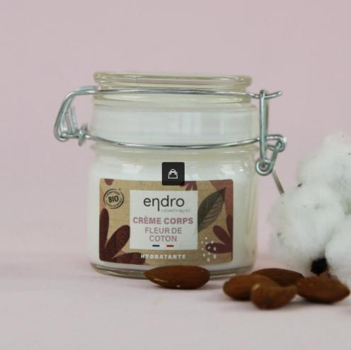 crème corps fleur de coton
